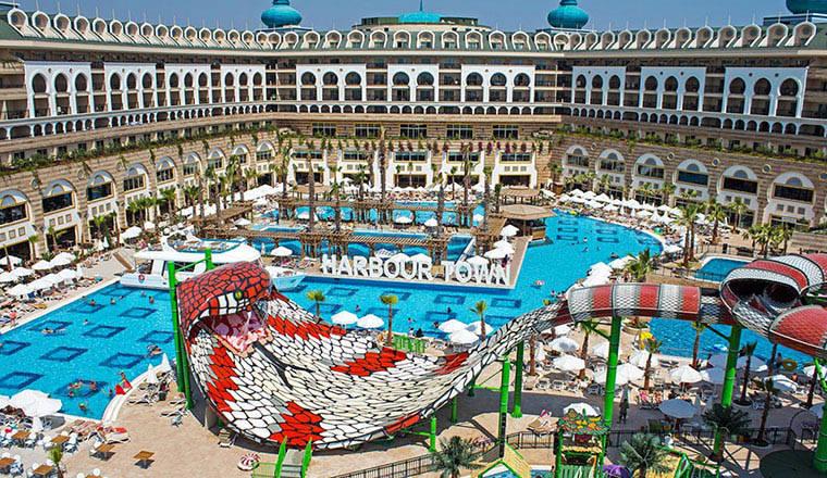 Crystal Sunset Luxury Resort & Spa i Side, Turkiet   airtours.se