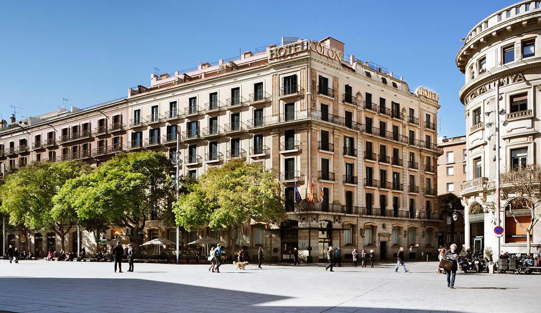 Bilder av colon i barcelona spanien for Hotels a bcn