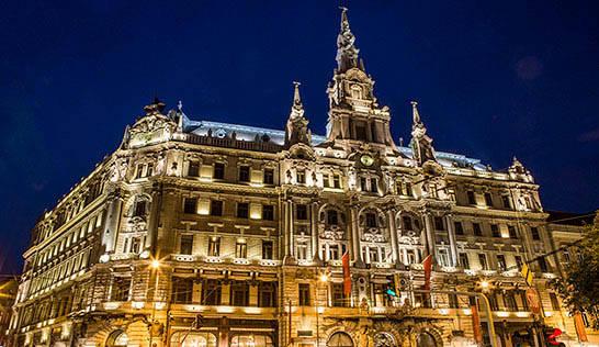 hotell flyg budapest