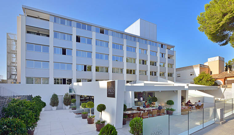 Innside palma bosque i palma stad p mallorca spanien for Top design hotels poland
