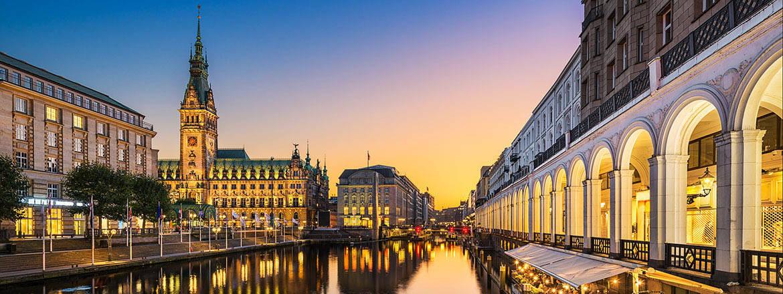 flyg från stockholm till hamburg